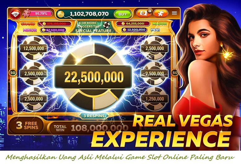Menghasilkan Uang Asli Melalui Game Slot Online Paling Baru